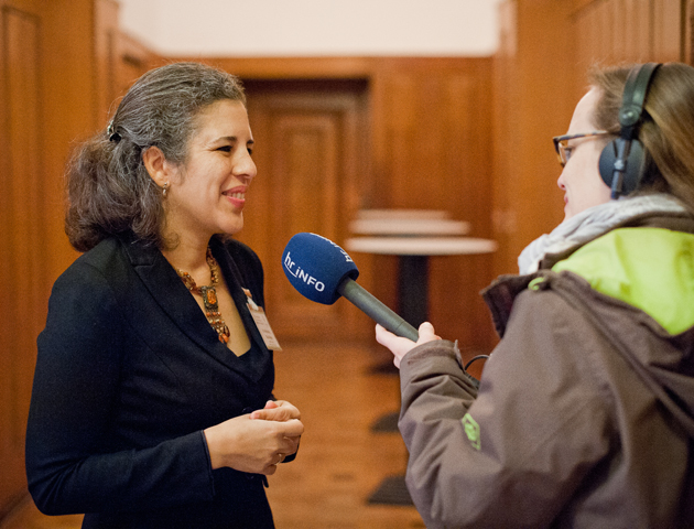 Dr. Marianela Diaz Meyer im Interview beim International Symposium 2017